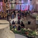 2019 12-08 Jennifer and Michael's Foggy First Dance Courtyard Wedding Ceremony at historic venue NOVA 535