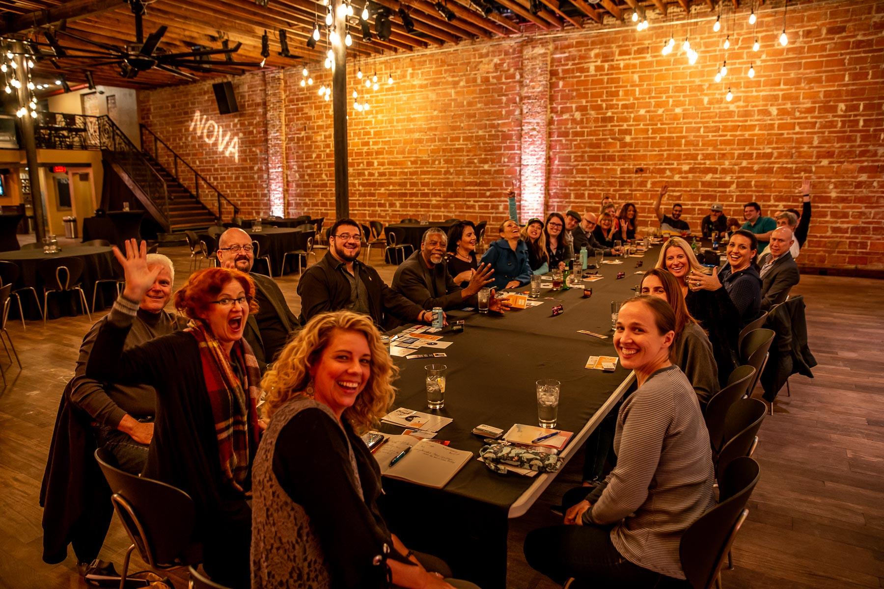 2020 ESC Big Meeting Table looking SE at NOVA 535