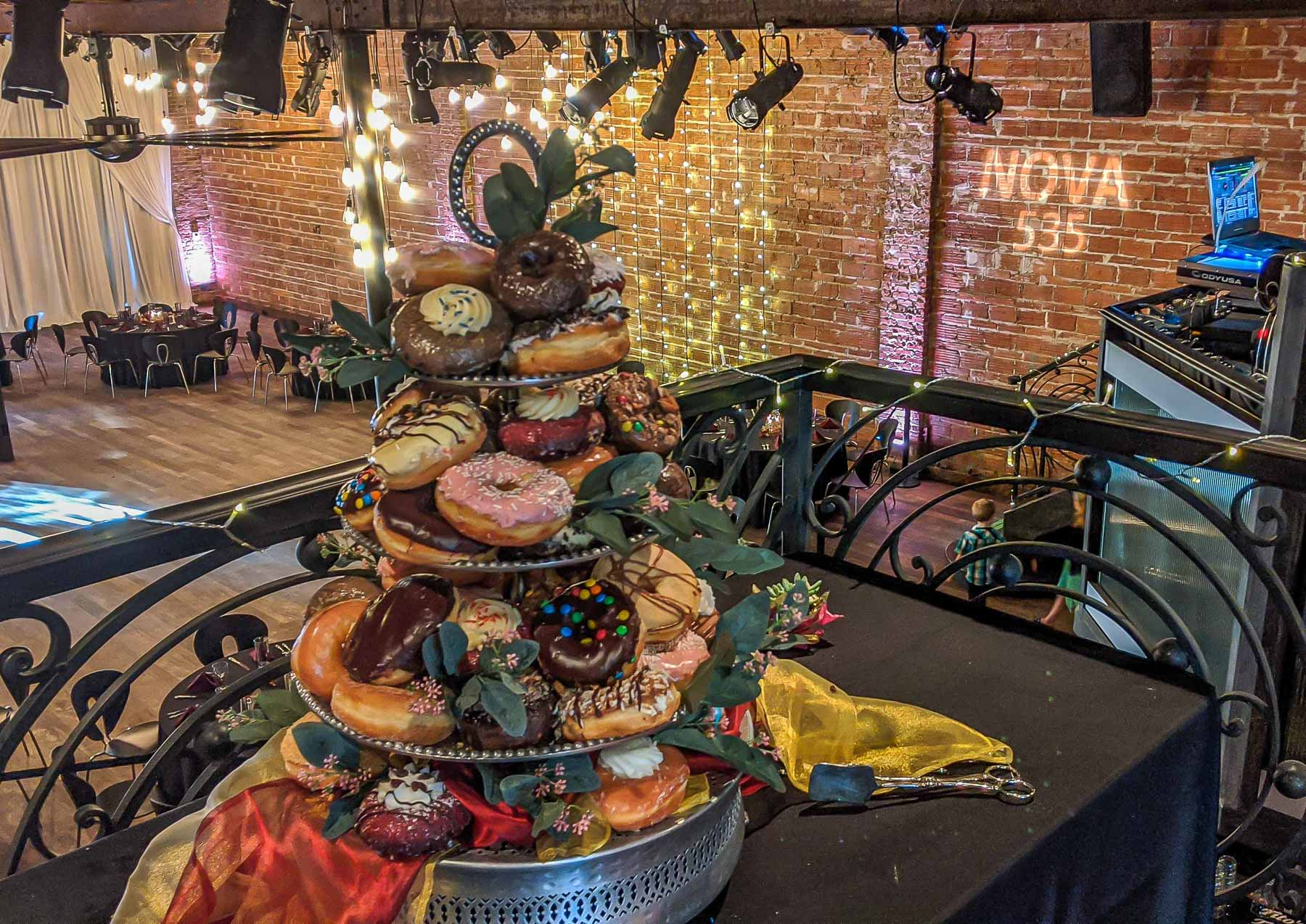 On Saturday, February 22, 2020, we hosted a lovely Courtyard Wedding Sweet Themed Reception at historic downtown St. Pete, Florida venue NOVA 535