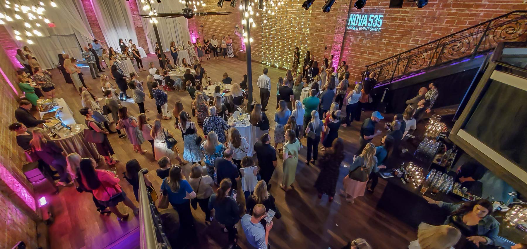 Tuesday March 10, 2020 at historic downtown St. Pete venue NOVA 535 Marry Me Tampa Bay, NACE and ABC gathered for the 2020 Tampa Bay Wedding Industry Mixer