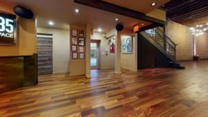 Downstairs, main bar facing south, NOVA 535 unique event space, downtown St. Pete, Florida