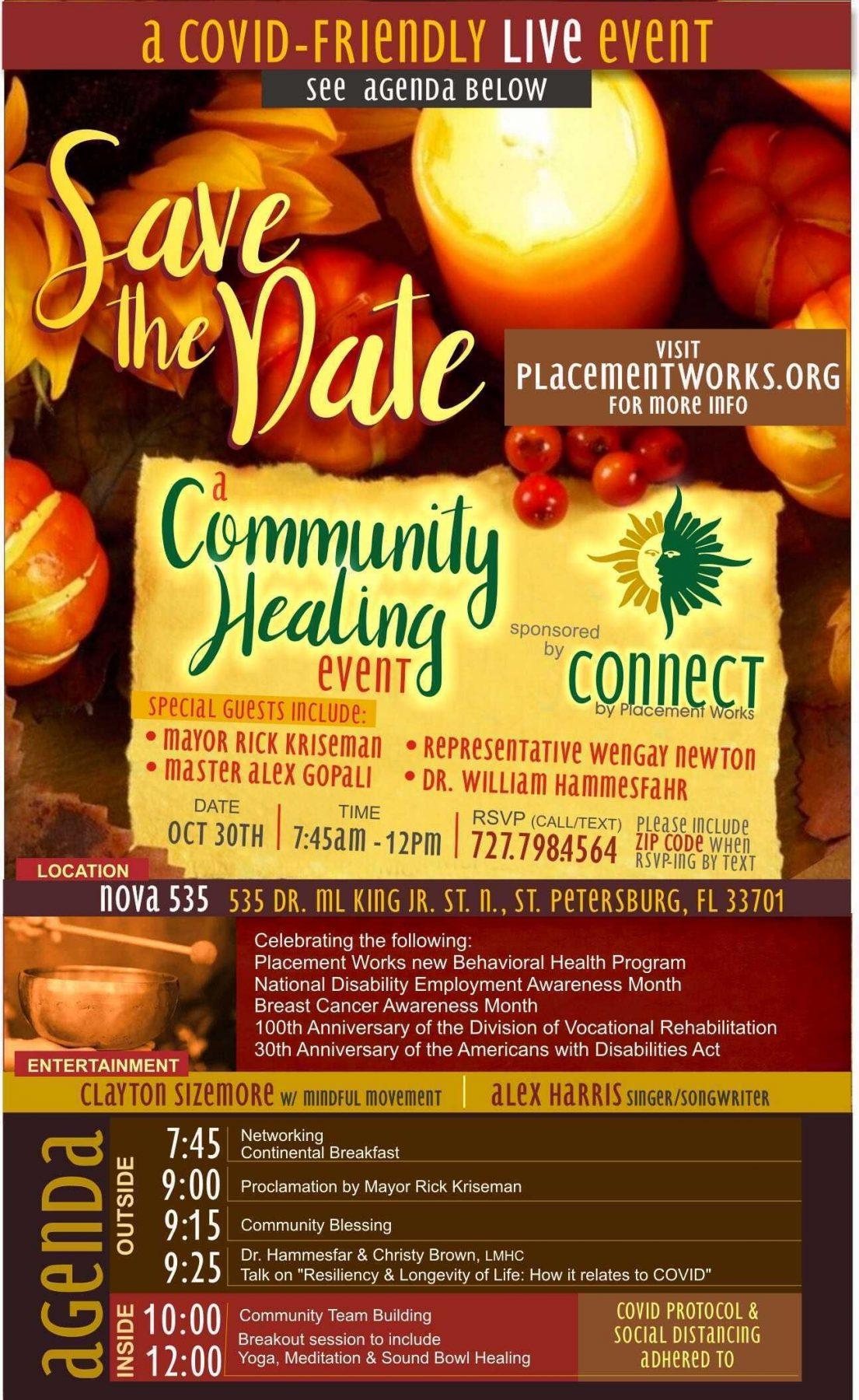 2020 10-30 PlacementWorks Community Healing Event at downtown St. Pete Venue NOVA 535
