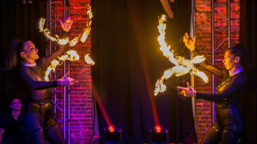 "2020 10-31 Novaween 14 ""Quarantine"" at historic venue NOVA 535 for HAlloween 2020 Costume Party"