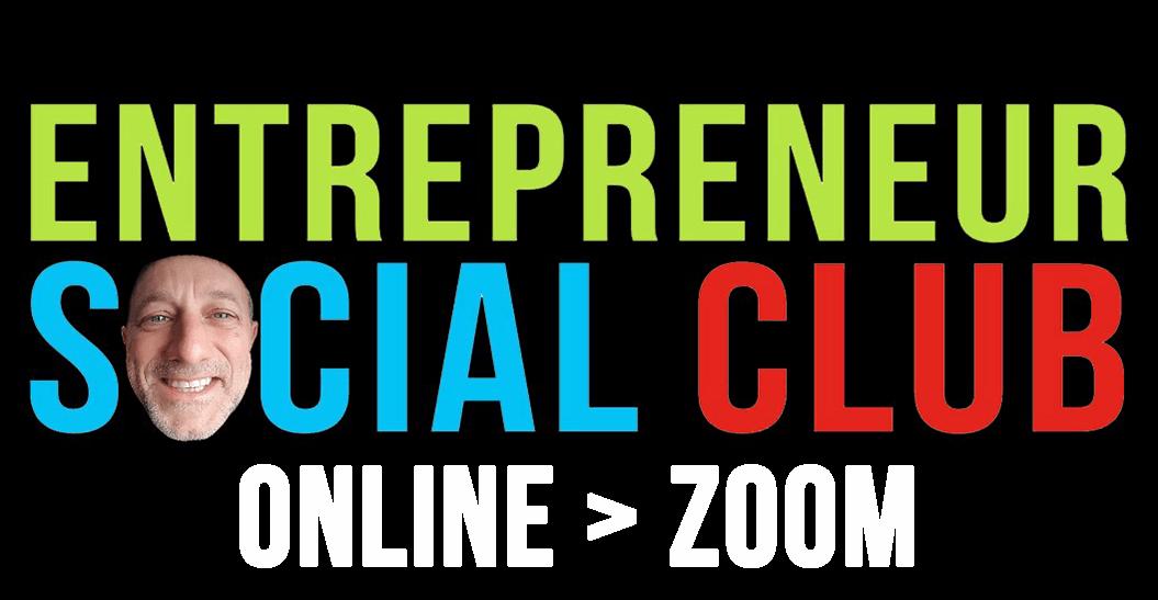 ESC logo black background - ESC - ONLINE - ZOOM - Michael Novilla face