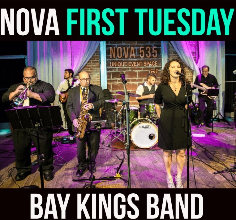 NOVA First Tuesday Open House with Bay Kings Band