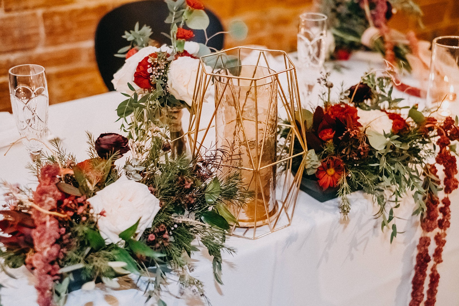 Vintage Christmas Inspired Wedding Decor at Historic Tampa Bay Wedding Venue NOVA 535 in Downtown St. Pete