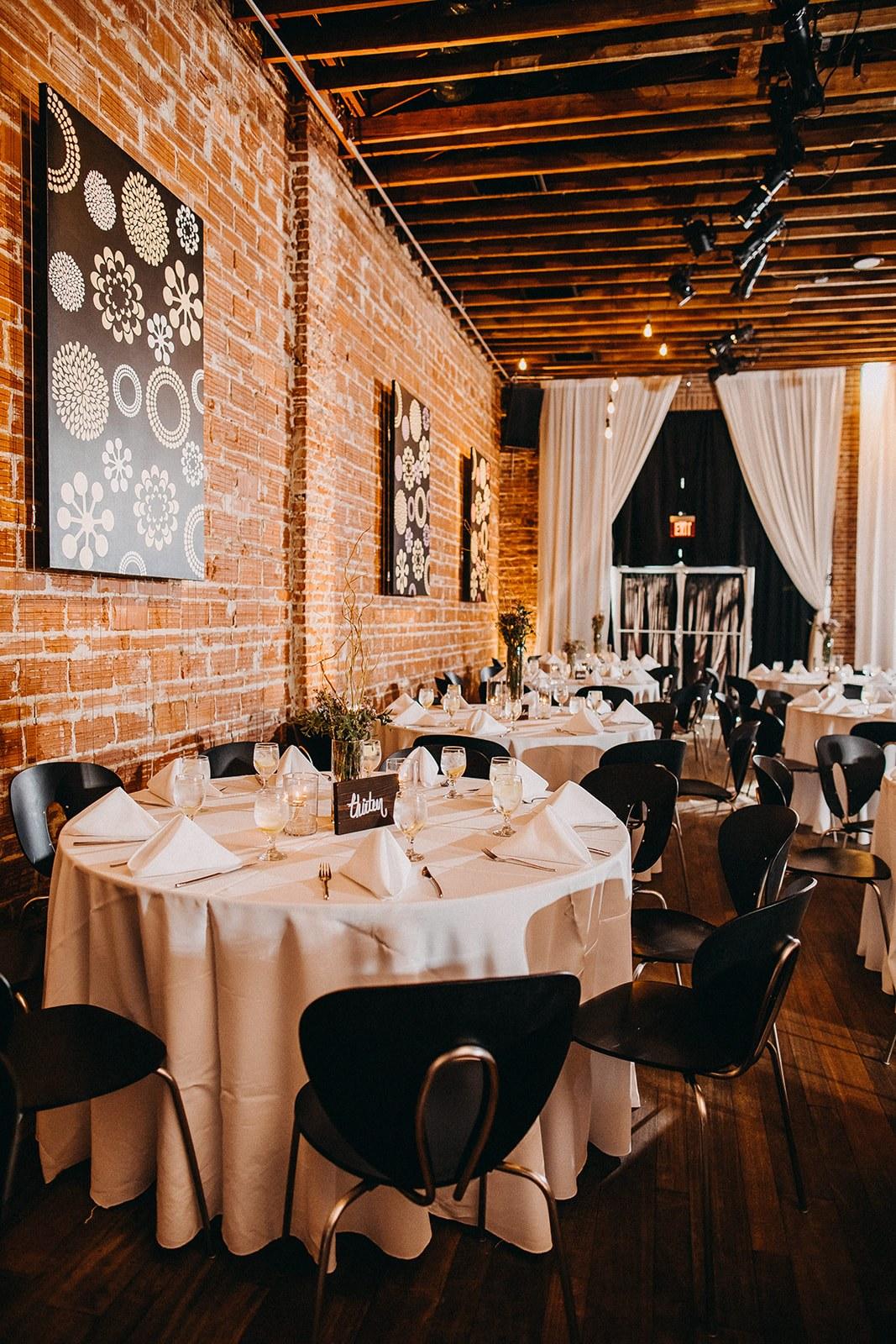 Vintage Inspired Wedding Decor and Reception at Unique St. Pete Wedding Venue NOVA 535 in Tampa Bay